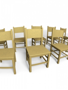 chairs_in_a_row