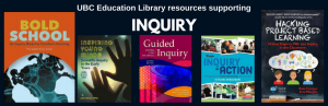 UBC Education Library resources supporting Inquiry