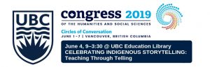 June 4: Teaching Through Telling: The RavenSpace Publishing Project [Congress 2019 Event]