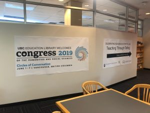 Photos from Congress 2019 at UBC Education Library