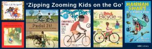 Zipping Zooming Kids on the Go: Book Covers Featuring Children Engaging in an Active Lifestyle