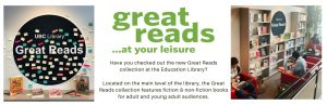 The New Great Reads Collection at UBC Education Library