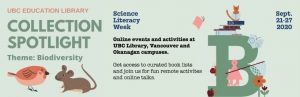 Science Literacy Week 2020: Biodiversity Resources