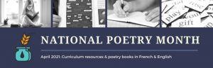 Collection Spotlight: April is National Poetry Month!